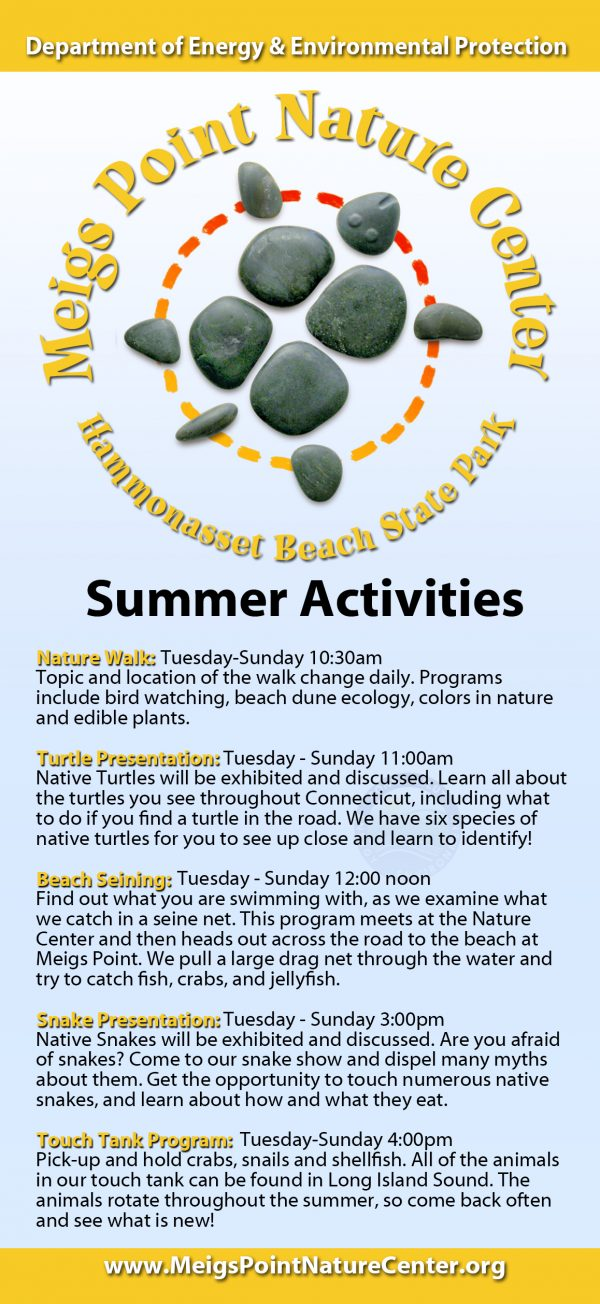 Summer Programs - Meigs Point Nature Center